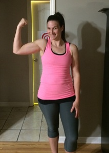 April 2014- check out those guns on Mama!