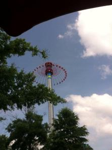 The ride at Carowinds I wasn't allowed to ride- this was my desktop background throughout the surgery